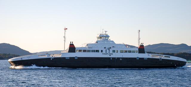 neues Fährschiff für Cuxhaven