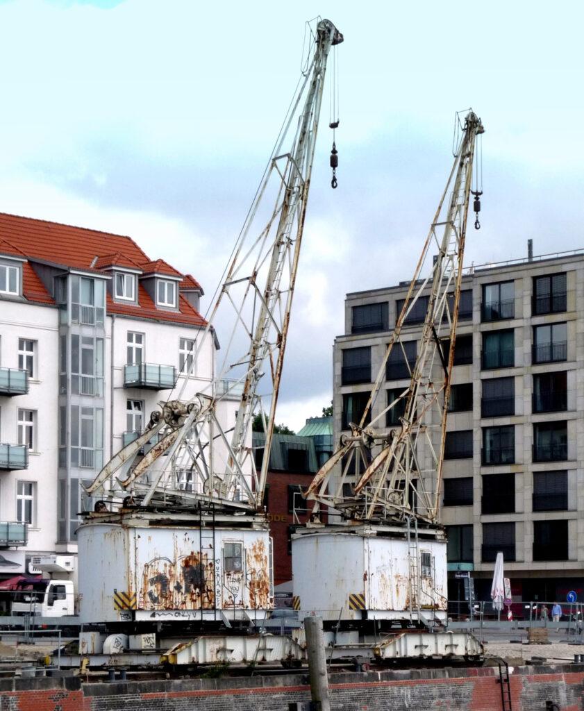 Historische Hafenkrane